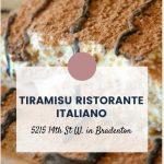 Tiramisu Ristorante Italiano: A Taste Of Italy in Bradenton