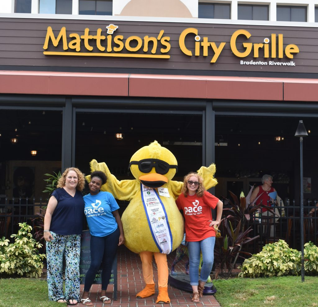 Mattison's Riverwalk Round Up for Charity