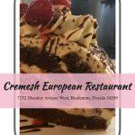 Cremesh European Restaurant in Bradenton, Florida