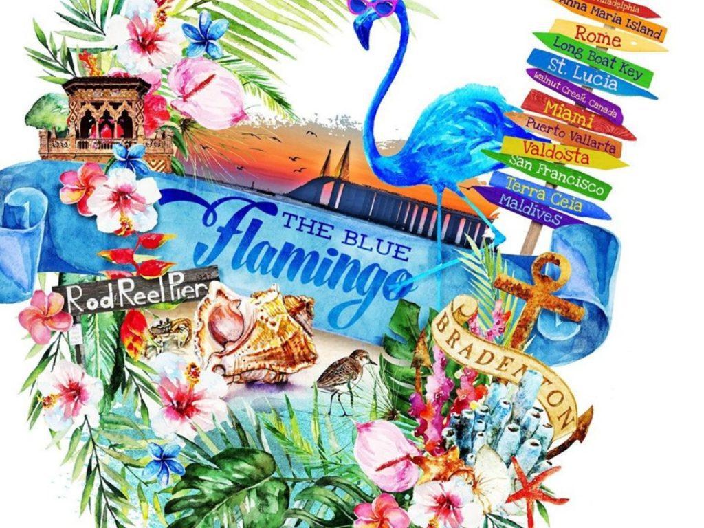 Blue Flamingo 1024x768 1