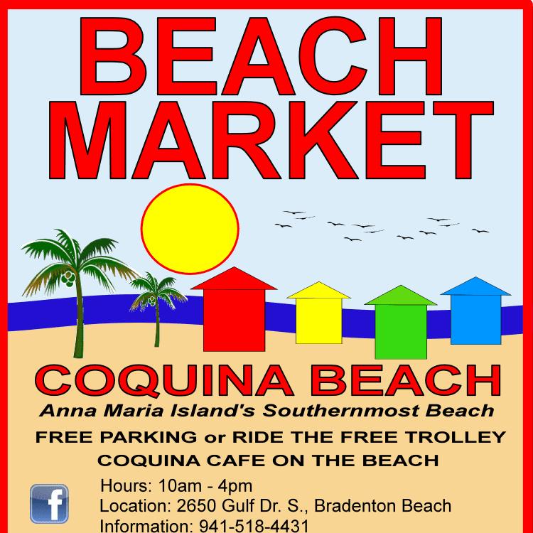 Coquina Beach Marketing Shopping Anna Maria Island