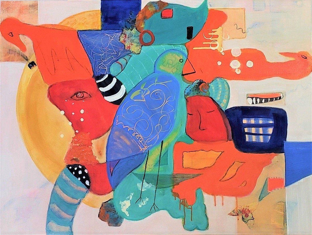 Smith Katty Moon Dreams Mixed Media 30x40 1200 1