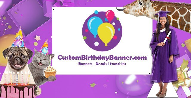 Custom Birthday Banner Bradenton