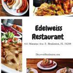Edelweiss Restaurant: Enjoy Authentic German Cuisine In Bradenton