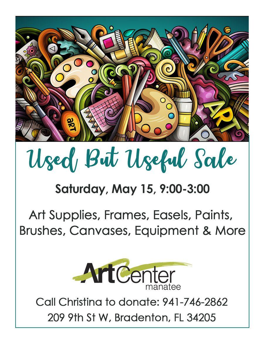 ArtCenter Manatee Used But Useful Sale
