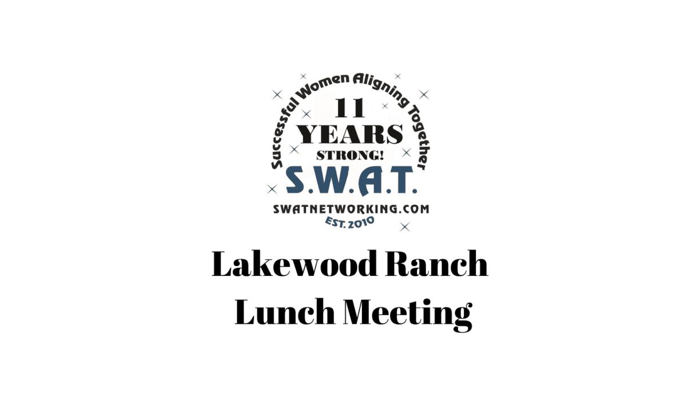 SWAT Networking Lakewood Ranch
