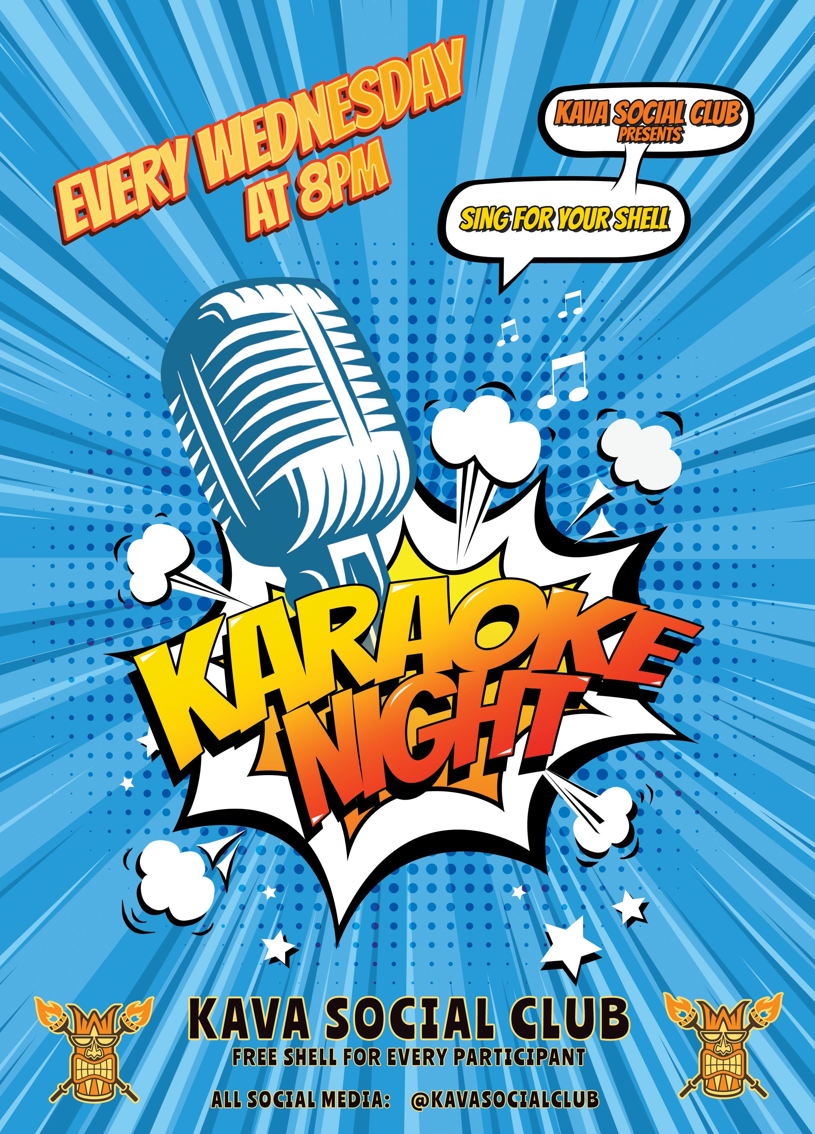 KSC Karaoke Flyer June Blue copy