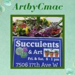 ArtbyCMac: Art and Succulents by Chris MacCormack in Bradenton