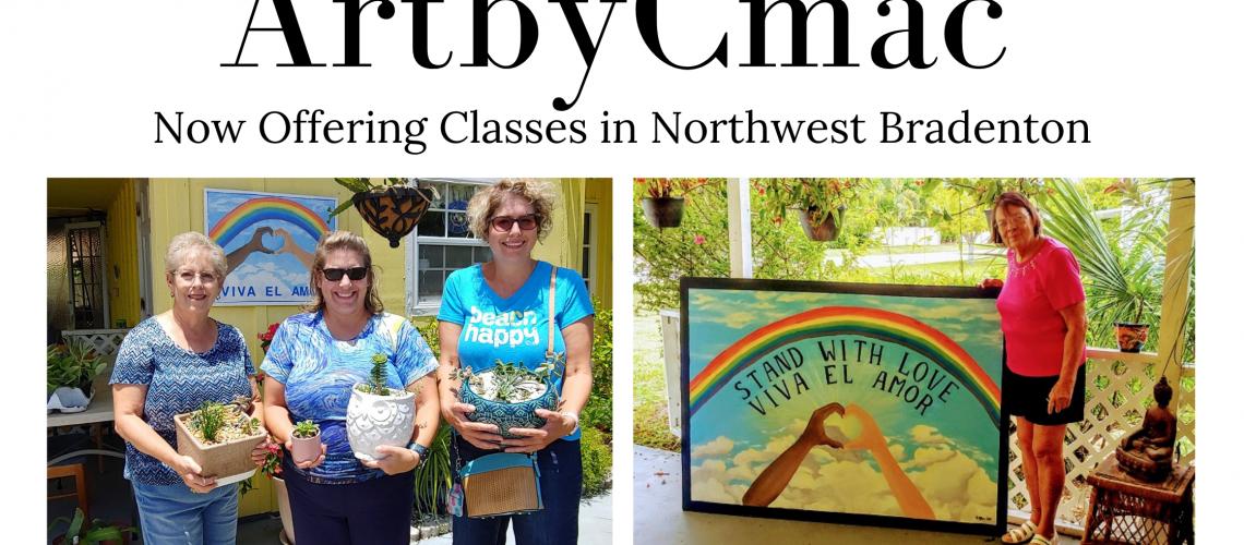 ArtbyCmac Artist Bradenton Art Classes